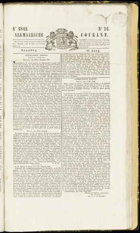 Alkmaarsche Courant 1842-06-13