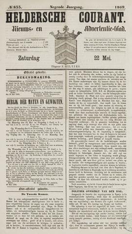 Heldersche Courant 1869-05-22