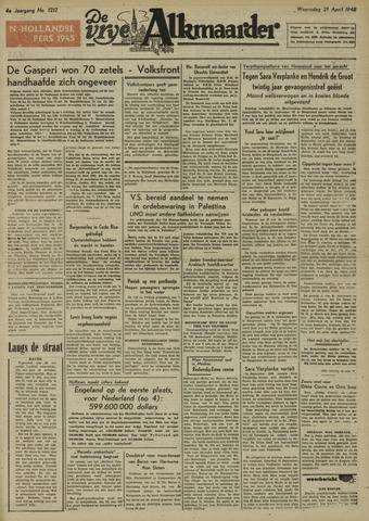 De Vrije Alkmaarder 1948-04-21