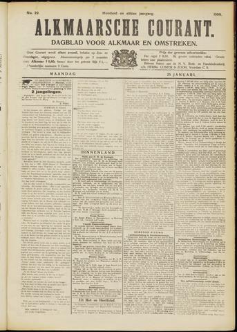 Alkmaarsche Courant 1909-01-25