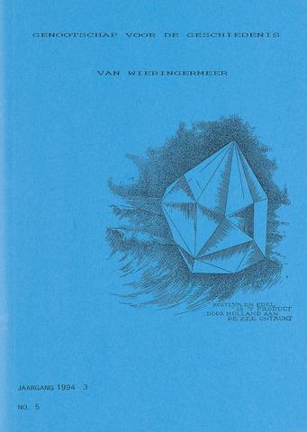 Kroniek Historisch Genootschap Wieringermeer 1994-07-01