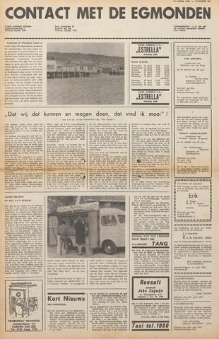 Contact met de Egmonden 1971-04-14