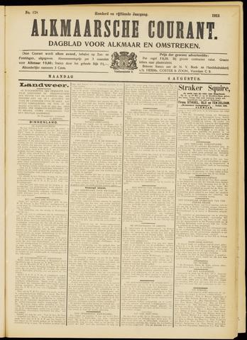 Alkmaarsche Courant 1913-08-04