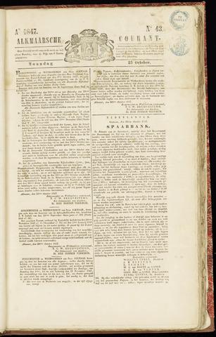 Alkmaarsche Courant 1847-10-25