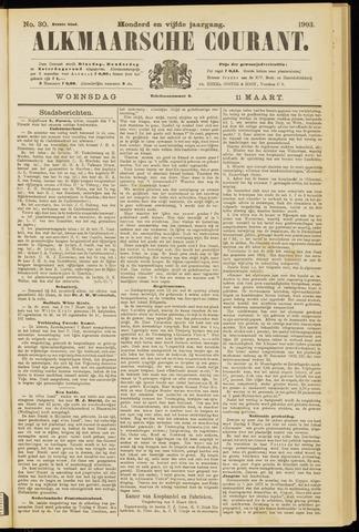 Alkmaarsche Courant 1903-03-11