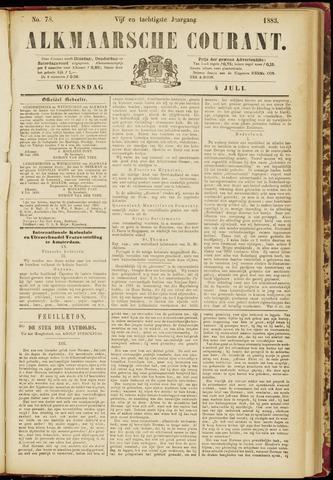 Alkmaarsche Courant 1883-07-04