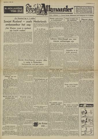 De Vrije Alkmaarder 1950-05-08