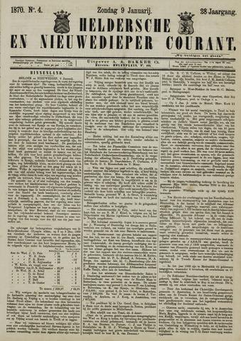 Heldersche en Nieuwedieper Courant 1870-01-09