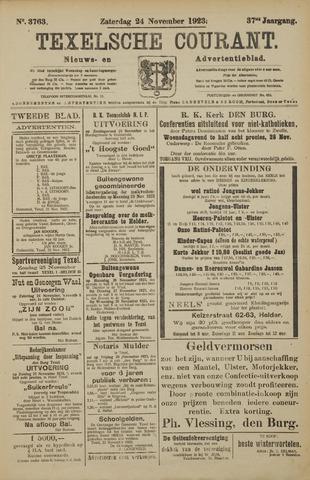 Texelsche Courant 1923-11-24
