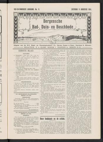 Bergensche bad-, duin- en boschbode 1934-08-11