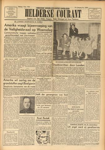 Heldersche Courant 1950-11-07