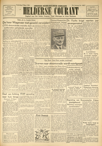 Heldersche Courant 1950-03-02