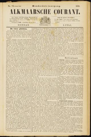 Alkmaarsche Courant 1898-07-03