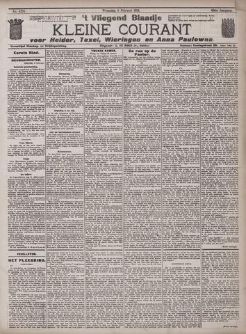 Vliegend blaadje : nieuws- en advertentiebode voor Den Helder 1914-02-04