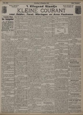 Vliegend blaadje : nieuws- en advertentiebode voor Den Helder 1908-12-12
