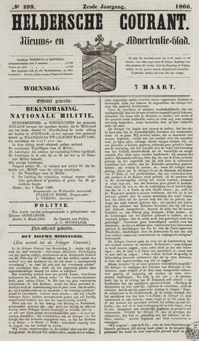 Heldersche Courant 1866-03-07