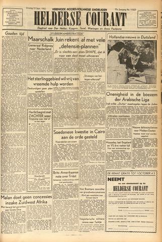 Heldersche Courant 1952-09-23