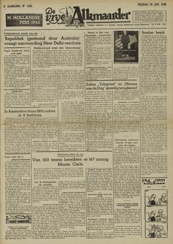 De Vrije Alkmaarder 1949-01-28
