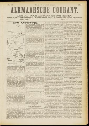 Alkmaarsche Courant 1915-07-20