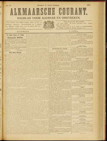 Alkmaarsche Courant 1908-04-11