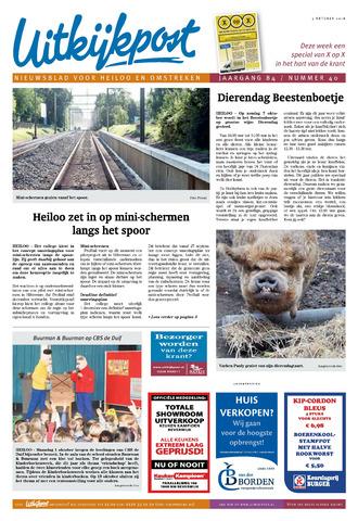 Uitkijkpost : nieuwsblad voor Heiloo e.o. 2018-10-03