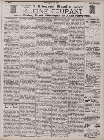 Vliegend blaadje : nieuws- en advertentiebode voor Den Helder 1904-06-18