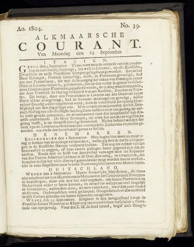 Alkmaarsche Courant 1804-09-24
