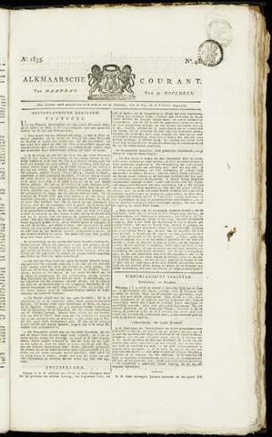 Alkmaarsche Courant 1835-11-30