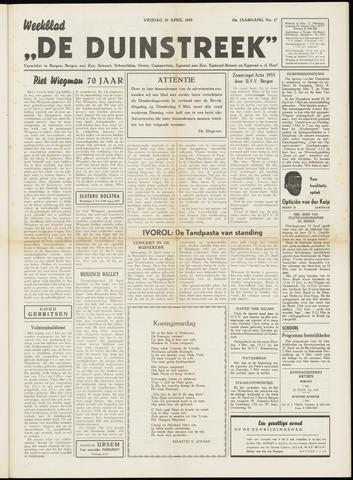 De Duinstreek 1955-04-29