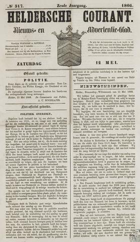 Heldersche Courant 1866-05-12