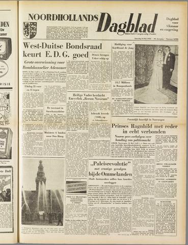Noordhollands Dagblad : dagblad voor Alkmaar en omgeving 1953-05-16