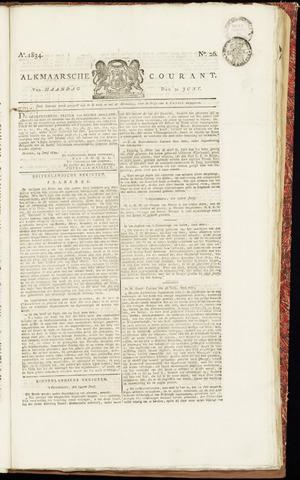 Alkmaarsche Courant 1834-06-30
