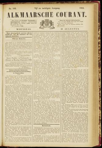 Alkmaarsche Courant 1883-08-29