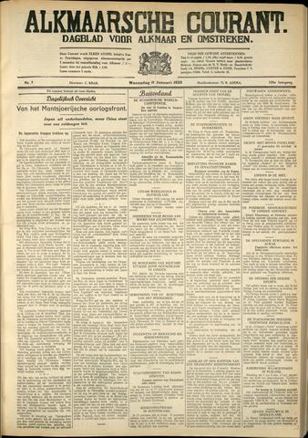 Alkmaarsche Courant 1933-01-11
