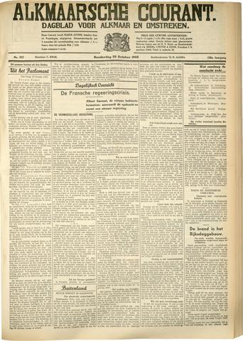 Alkmaarsche Courant 1933-10-26