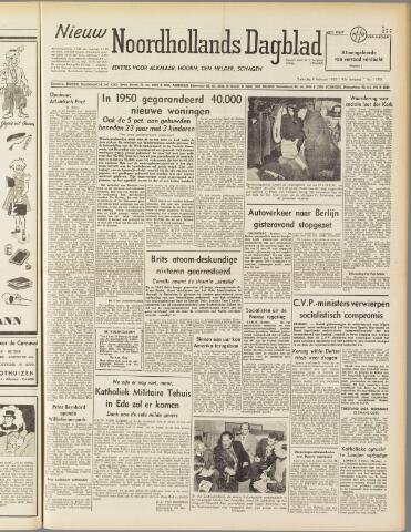 Nieuw Noordhollandsch Dagblad : voor Alkmaar en omgeving 1950-02-04