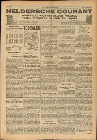 Heldersche Courant 1929-04-27