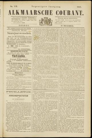 Alkmaarsche Courant 1888-12-16
