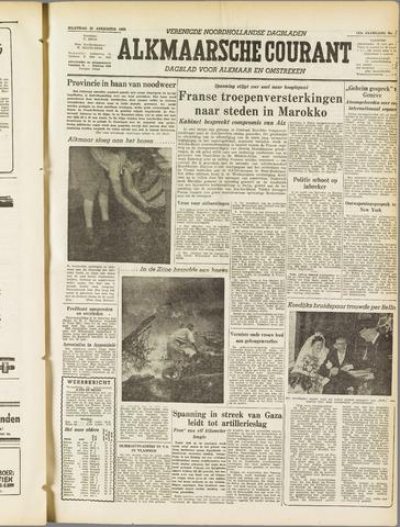 Alkmaarsche Courant 1955-08-29