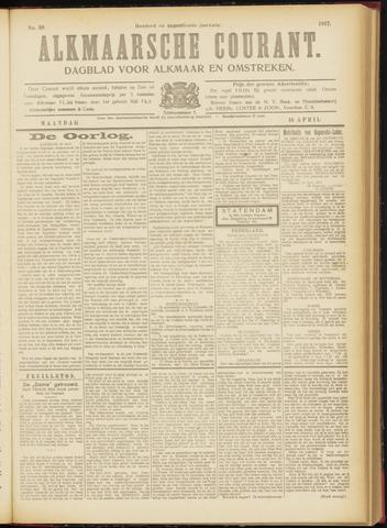 Alkmaarsche Courant 1917-04-16