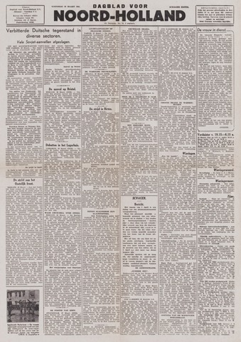 Dagblad Noord-Holland, Schager editie 1944-03-29