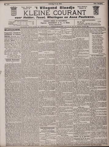 Vliegend blaadje : nieuws- en advertentiebode voor Den Helder 1903-07-18