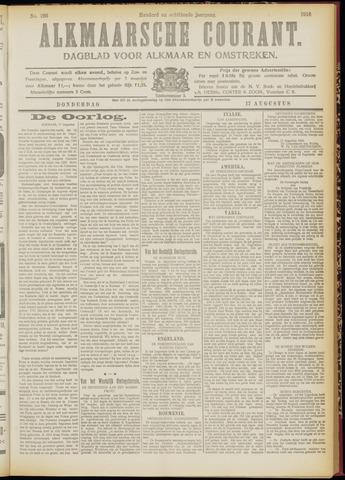 Alkmaarsche Courant 1916-08-17