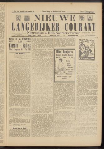 Nieuwe Langedijker Courant 1929-02-02