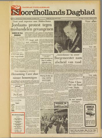 Noordhollands Dagblad : dagblad voor Alkmaar en omgeving 1967-07-01