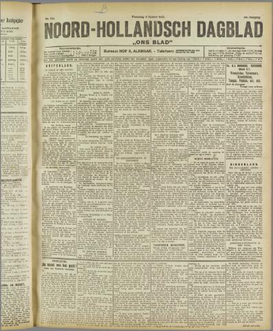 Ons Blad : katholiek nieuwsblad voor N-H 1922-10-04