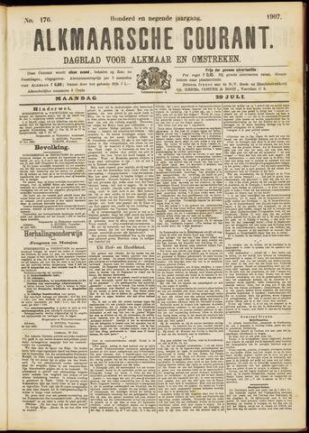 Alkmaarsche Courant 1907-07-29