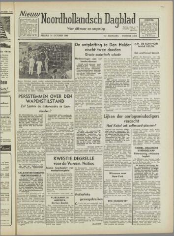 Nieuw Noordhollandsch Dagblad : voor Alkmaar en omgeving 1946-10-18