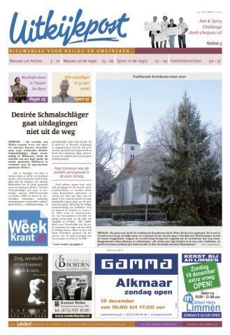 Uitkijkpost : nieuwsblad voor Heiloo e.o. 2010-12-15