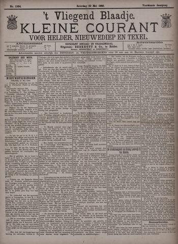 Vliegend blaadje : nieuws- en advertentiebode voor Den Helder 1886-05-22